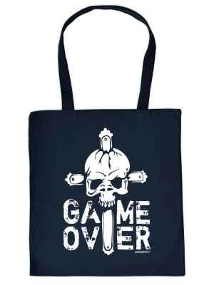 Stofftasche: Halloween - Game over!