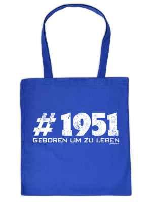 Stofftasche: Tasche #1951 geboren um zu leben