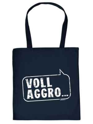Stofftasche: Voll Aggro?