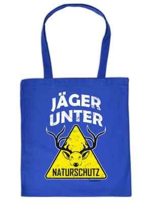 Stofftasche: Jäger unter Naturschutz