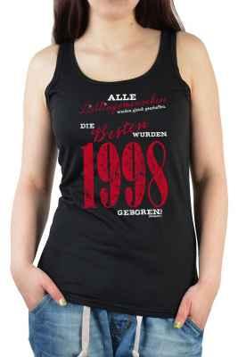 Tank Top Damen: Frauen gleich geschaffen 1998er Generation