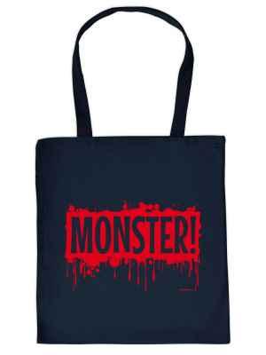 Stofftasche: Monster!
