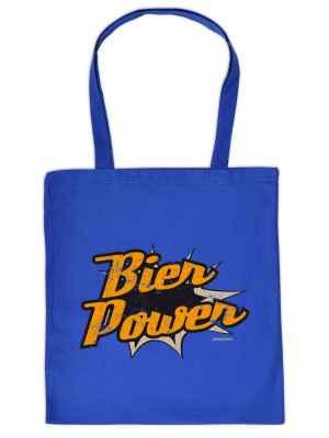 Stofftasche: Bier-Power