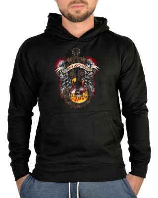 Kapuzensweater: Rock n Roll Guitar