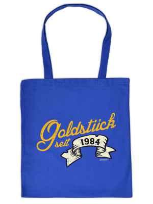 Stofftasche: Goldstück seit 1984