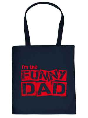 Stofftasche: I m the funny Dad