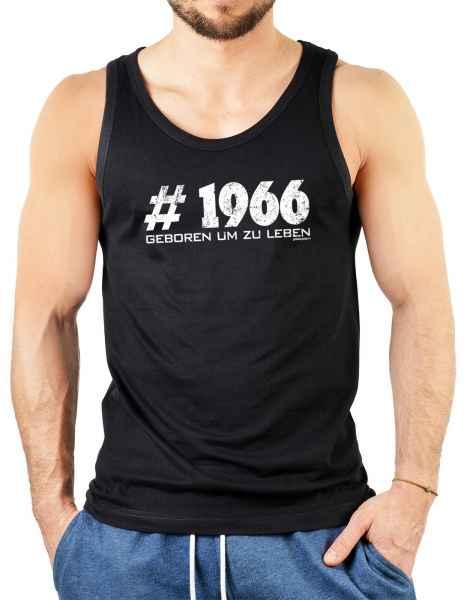 Tank Top Herren: # 1966 geboren um zu leben