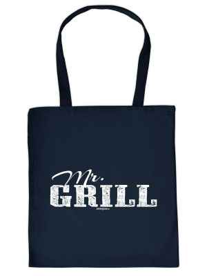Stofftasche: Mr. Grill