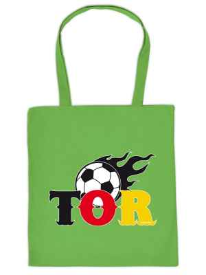 Stofftasche: Fussball - Tor