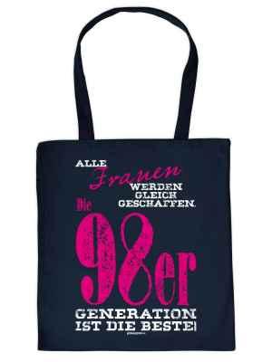 Stofftasche: Frauen gleich geschaffen 98er Generation