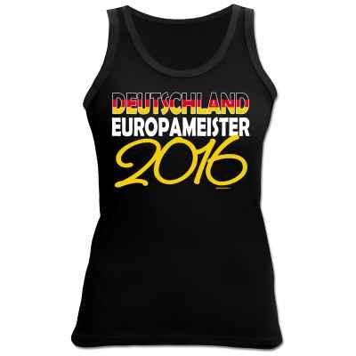 Damen Tanktop Deutschland Europameister 2016