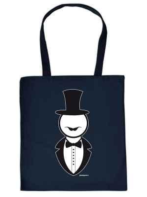 Stofftasche: Gentleman