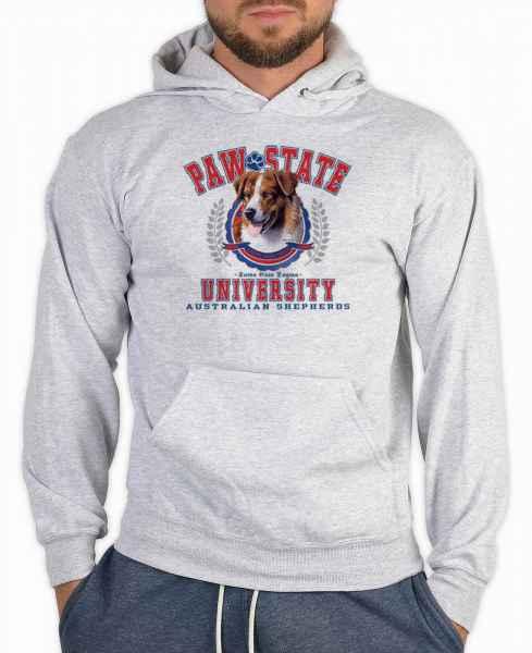 Kapuzensweater: Paw State University - Australian Shepherds