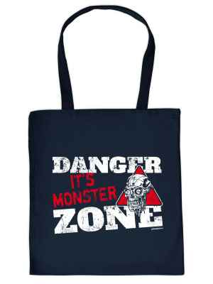 Stofftasche: Danger - It s Monster Zone