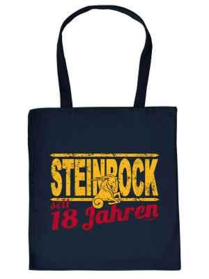 Stofftasche: Steinbock seit 18 Jahren