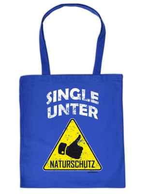 Stofftasche: Single unter Naturschutz