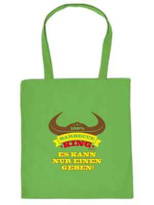 Stofftasche: 100 Prozent Barbecue King - es kann nur einen geben!
