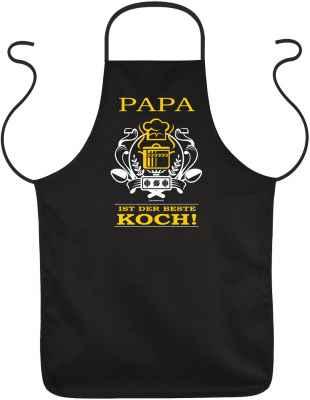 Schürze: Papa ist der beste Koch!