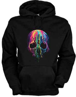 Hoody: Melting Skull