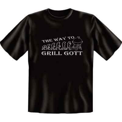 T-Shirt: The way to Grill Gott