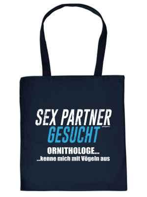 Stofftasche: Sex Partner gesucht - Ornithologe? kenne mich mit Vögeln aus