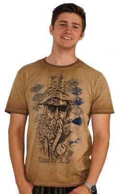 An Scheiß muaß i - Grantln 2.0 Trachten T-Shirt