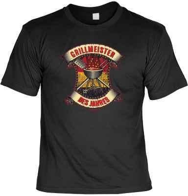 T-Shirt: Grillmeister des Jahres