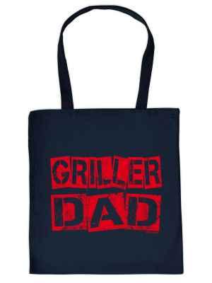 Stofftasche: Griller Dad