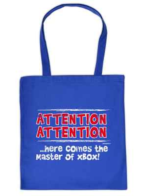 Stofftasche: Attention! Attention! ? here comes the Master of XBox!