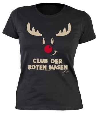 Damen T-Shirt:Club der roten Nasen