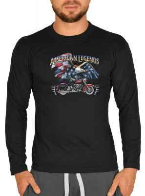 Langarmshirt Herren: American Legends