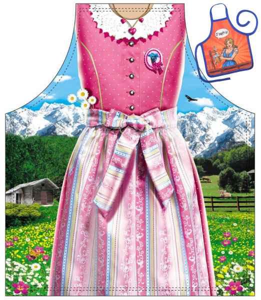 Motiv Kinder Schürze mit kleiner Schürze: Bayerisches Mädel