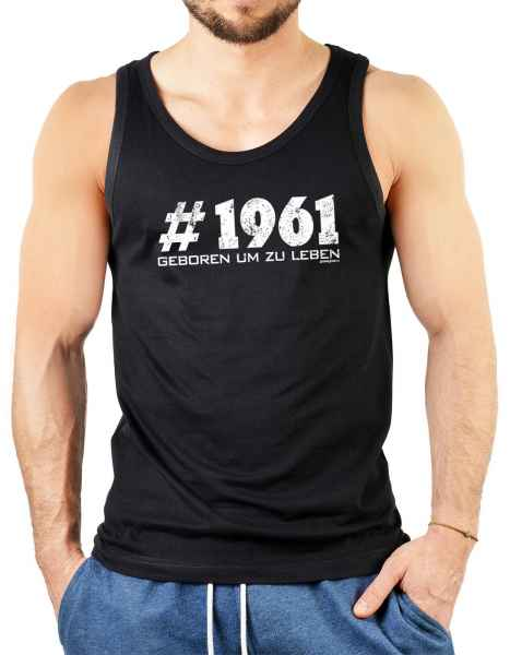 Tank Top Herren: # 1961 geboren um zu leben