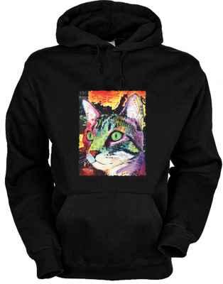 Hoody: Curiosity Cat