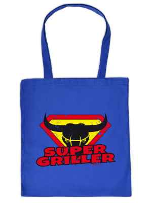 Stofftasche: Super-Griller