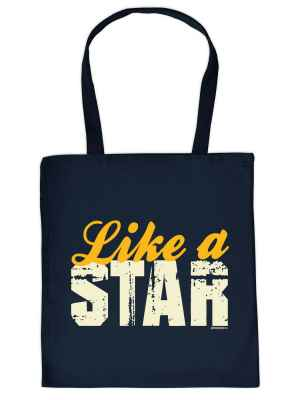 Stofftasche: Like a Star