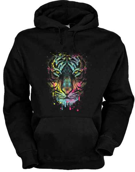 Hoody: Dripping Tiger