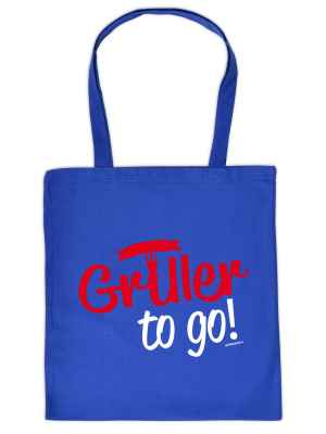 Stofftasche: Griller to go!