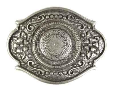 Gürtelschliesse: Ornamente 7,7 x 6 cm