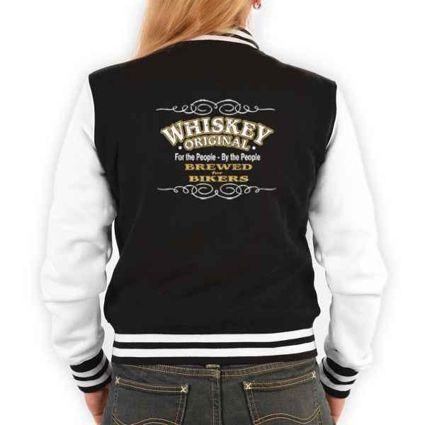 College Jacke Damen: Whiskey Original