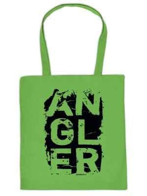 Stofftasche: Angler