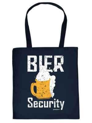 Stofftasche: Bier Security