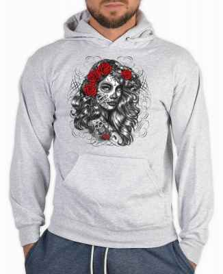 Kapuzensweater: la catrina