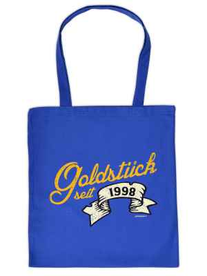Stofftasche: Goldstück seit 1998