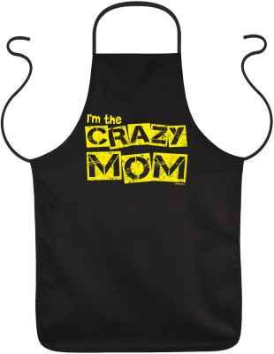 Schürze: I m the crazy Mom