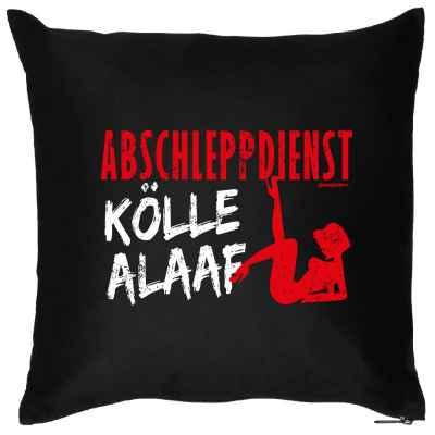 Kissen mit Füllung: Abschleppdienst Kölle Alaaf!