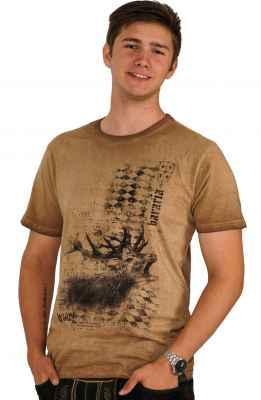 Röhrender Hirsch Bavaria Trachten T-Shirt