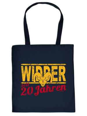 Stofftasche: Widder seit 20 Jahren