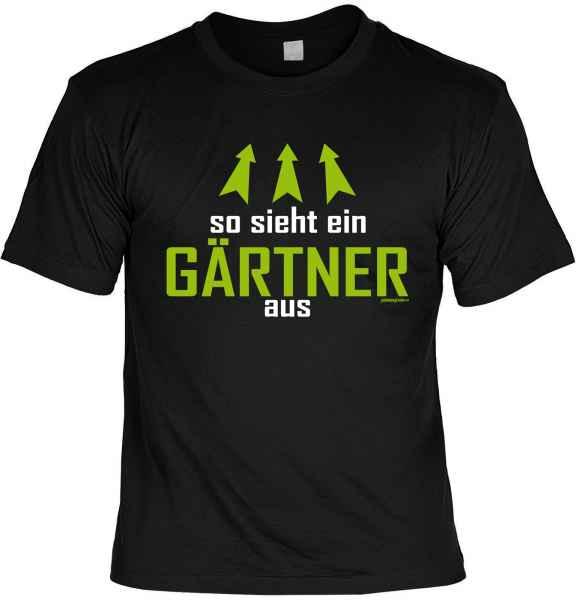 T-Shirt: So sieht ein Gärtner aus