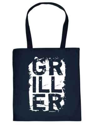 Stofftasche: Griller